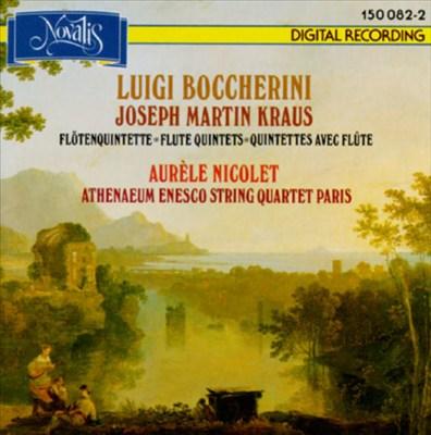 Luigi Boccherini, Joseph Martin Kraus: Flute Quintets