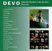 Q: Are We Not Men? A: We Are Devo/DEV-O Live