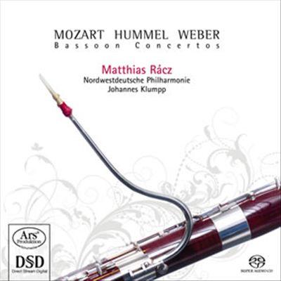 Mozart, Hummel, Weber: Bassoon Concertos