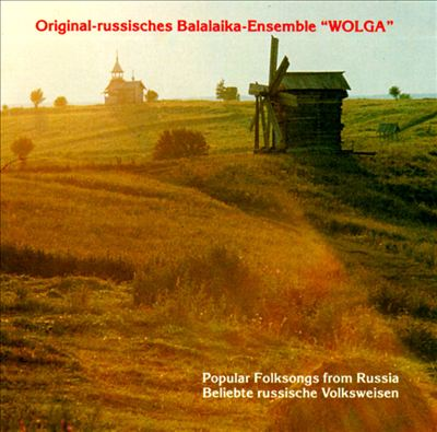 Popular Folksongs from Russia