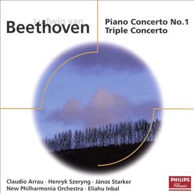 Beethoven: Piano Concerto No. 1; Triple Concerto