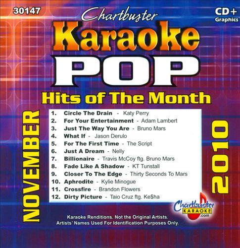 Karaoke: Pop Hits of the Month - November 2010