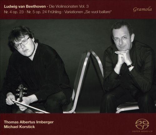 Beethoven: Die Violinsonaten, Vol. 3