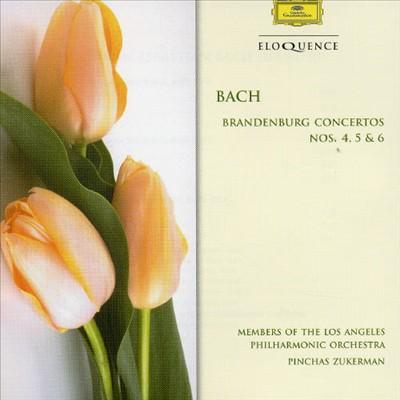 J.S. Bach: Brandenburg Concertos Nos. 4 - 6
