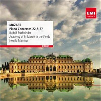Mozart: Piano Concertos 22 & 27