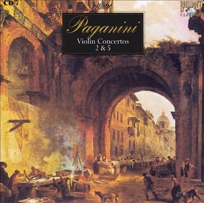 Paganini: Violin Concertos Nos. 5 & 7