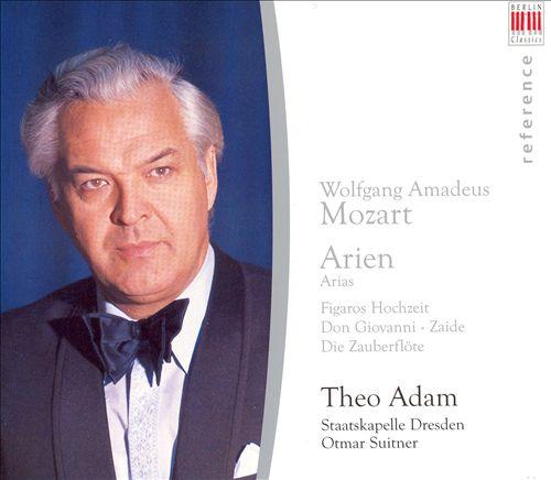 Theo Adam sings Mozart Arias