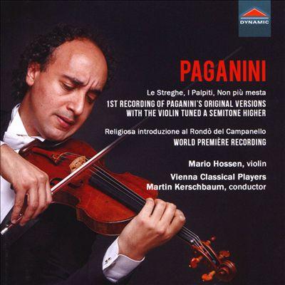 Paganini: Le Streghe; I Palpiti; Non più mesta