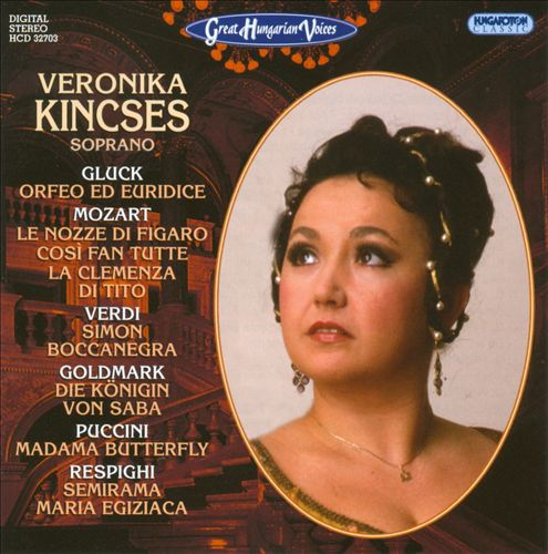 Great Hungarian Voices: Veronika Kincses