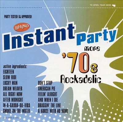 Instant Party: More 70's Rock