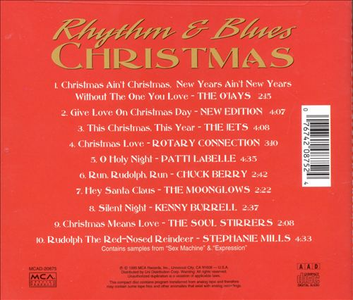 Rhythm & Blues Christmas [Universal]