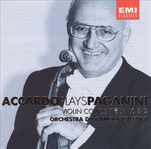 Accardo plays Paganini Violin Concertos Nos. 0 & 2