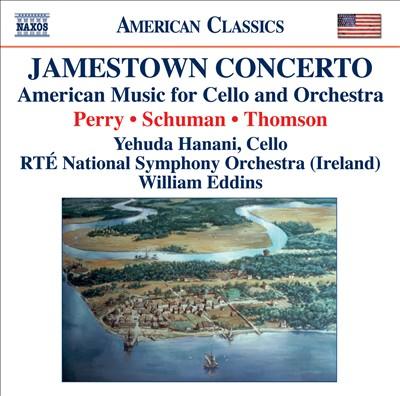 Jamestown Concerto: American Music for Cello & Orchestra