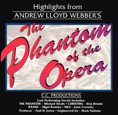 The Phantom of the Opera [Legacy Highlights]