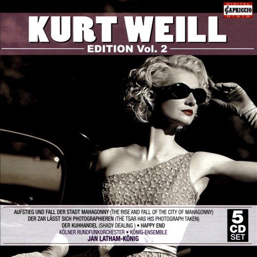 Kurt Weill Edition, Vol. 2