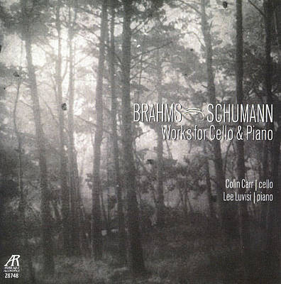 Brahms, Schumann: Works for Cello & Piano