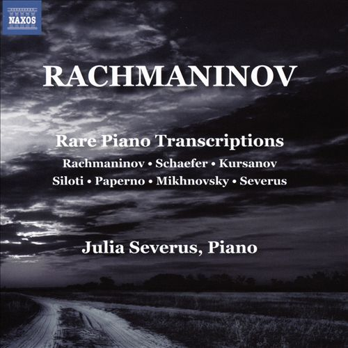 Rachmaninov: Rare Piano Transcriptions