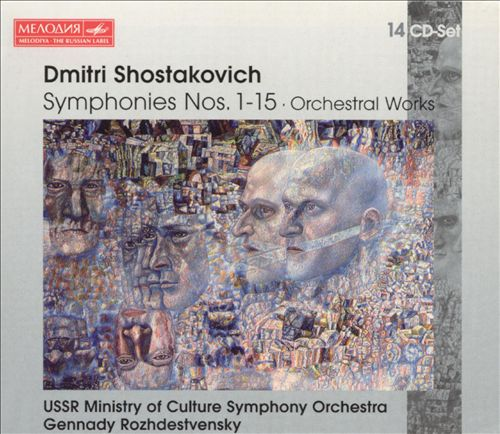 Shostakovich: Symphonies Nos. 1-15; Orchestral Works