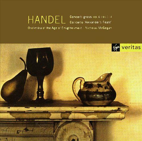 Handel: Concertos Op. 6 (1-4)/Alexander's Feast