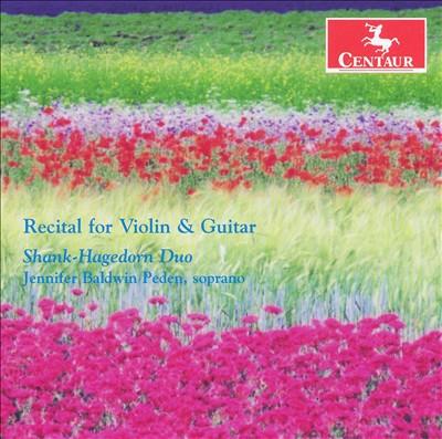 Recital for Violin & Guitar