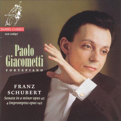 Schubert: Sonata in A; Impromptus