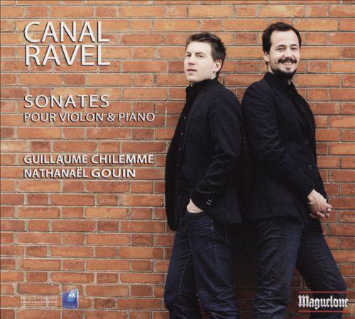 Canal, Ravel: Sonates pour Violon & Piano