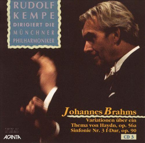 Brahms: Sinfonie Nr. 3; Haydn Variationen