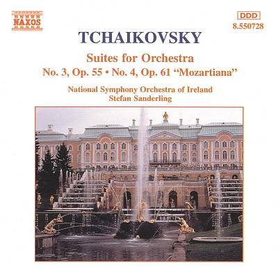 Tchaikovsky: Suites for Orchestra Nos. 3 & 4