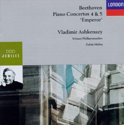 Beethoven: Piano Concerto Nos. 4 & 5