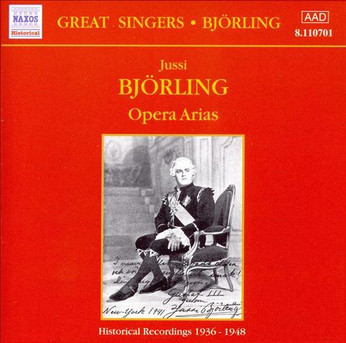 Jussi Björling: Opera Arias