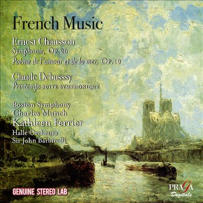 French Music: Ernest Chausson, Claude Debussy