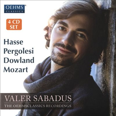Hasse, Pergolesi, Dowland, Mozart