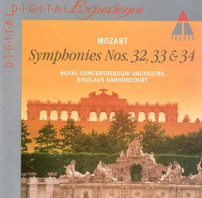 Mozart: Symphonies Nos. 32, 33 & 34
