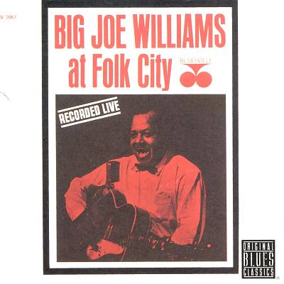 Big Joe Williams at Folk City