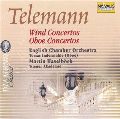 Telemann: Wind & Oboe Concertos