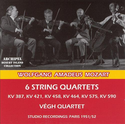Mozart: 6 String Quartets