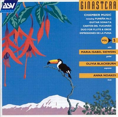 Ginastera: Chamber Music, Vol. 5