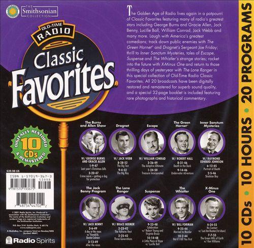 Old Time Radio: Classic Favorites