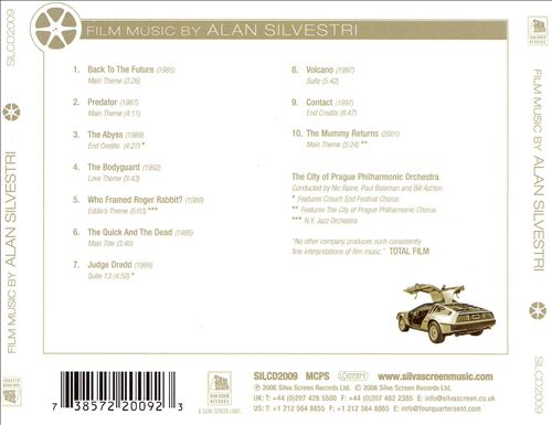 Film Music by Alan Silvestri