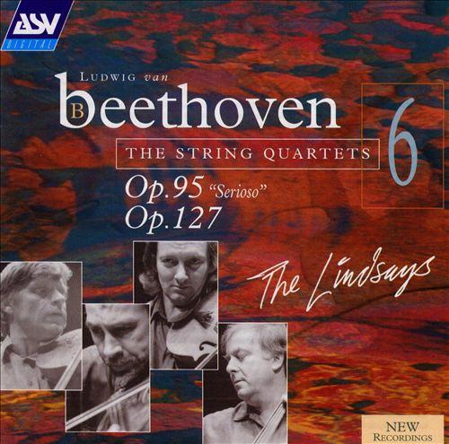 Beethoven: String Quartets Nos. 95 & 127