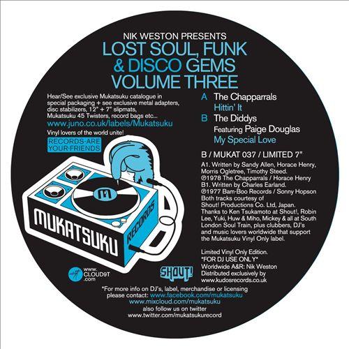 Nik Weston Presents Lost Funk, Soul & Disco Gems, Vol. 3