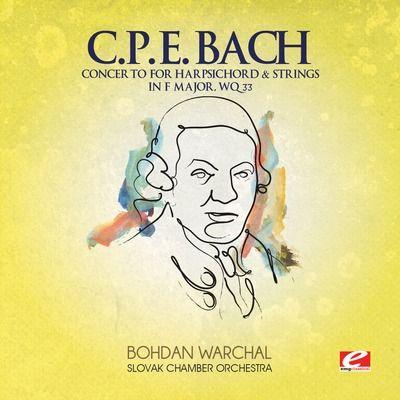 C.P.E. Bach: Concerto for Harpsichord & Strings in F major