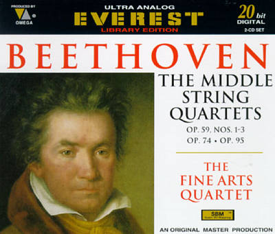 Beethoven: The Middle Quartets