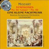 """Mozart: Symphonies Nos. 36 """"Linzer"""" & 39; Eine kleine Nachtmusik"""