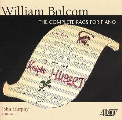 William Bolcom: The Complete Rags for Piano