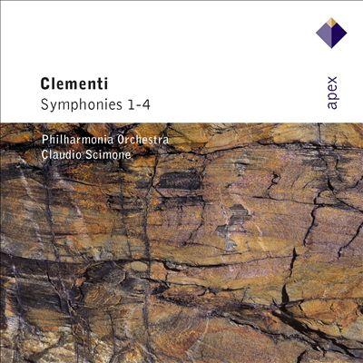 Clementi: Symphonies Nos 1 - 4