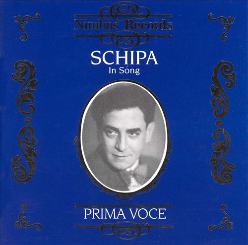 Prima Voce: Schipa in Song