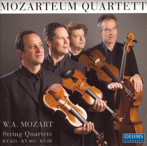 Mozart String Quartets K. 421, 465 & 80
