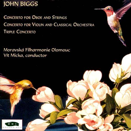 John Biggs: Violin Concerto; Oboe Concerto; Triple Concerto