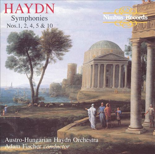 Haydn: Symphonies Nos. 1, 2, 4, 5 & 10